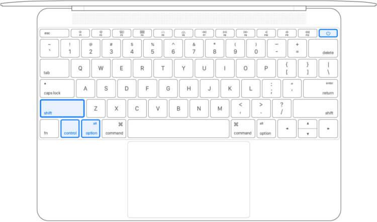 Mac выключается на 20 процентах. Что делать