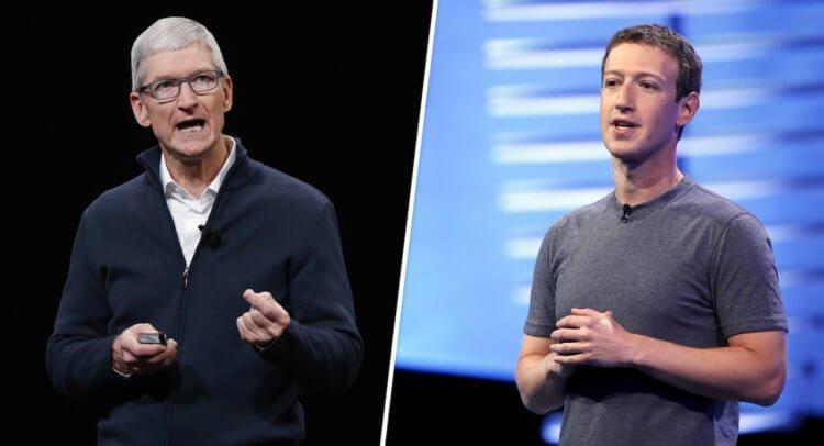 Facebook критикует Apple через СМИ. Ей не нравится запрет на слежку в приложениях