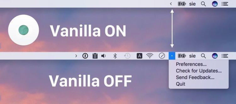 Как скрыть ненужные иконки на Mac
