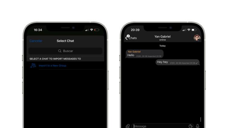 Как перенести чаты из WhatsApp в Telegram на iOS