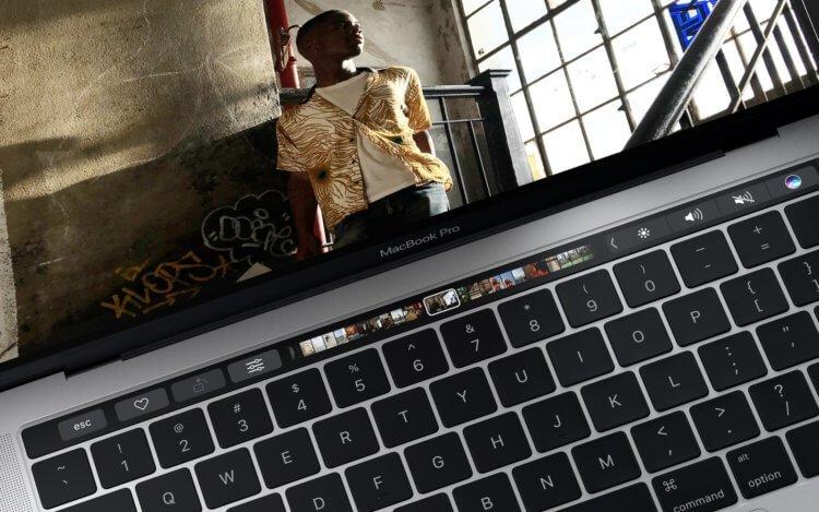 Не получилось, не фартануло: Apple откажется от Touch Bar в MacBook Pro в этом году