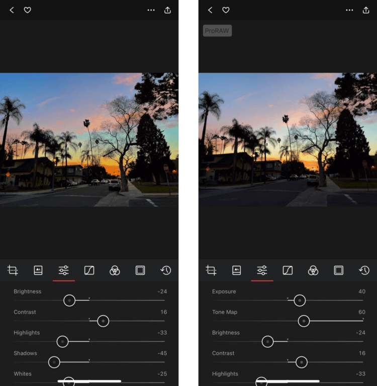 Чем отличается формат ProRAW в iPhone 12 Pro от обычной фотографии?