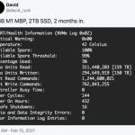 Пользователи Mac с чипом M1 жалуются на быстрый износ SSD. В чём дело?