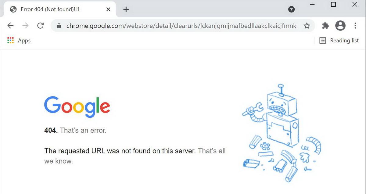 Ориентированное на приватность расширение ClearURLs удалено из Chrome Web Store