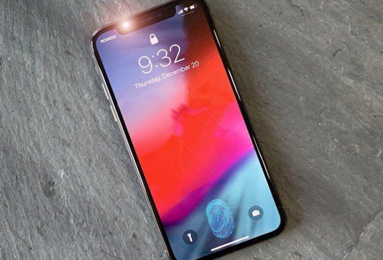 Дождались! Apple запатентовала Touch ID, встроенный в экран iPhone