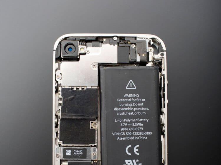 Купил новый iPhone 7 — через год ёмкость аккумулятора упала ниже 70%. Что произошло?