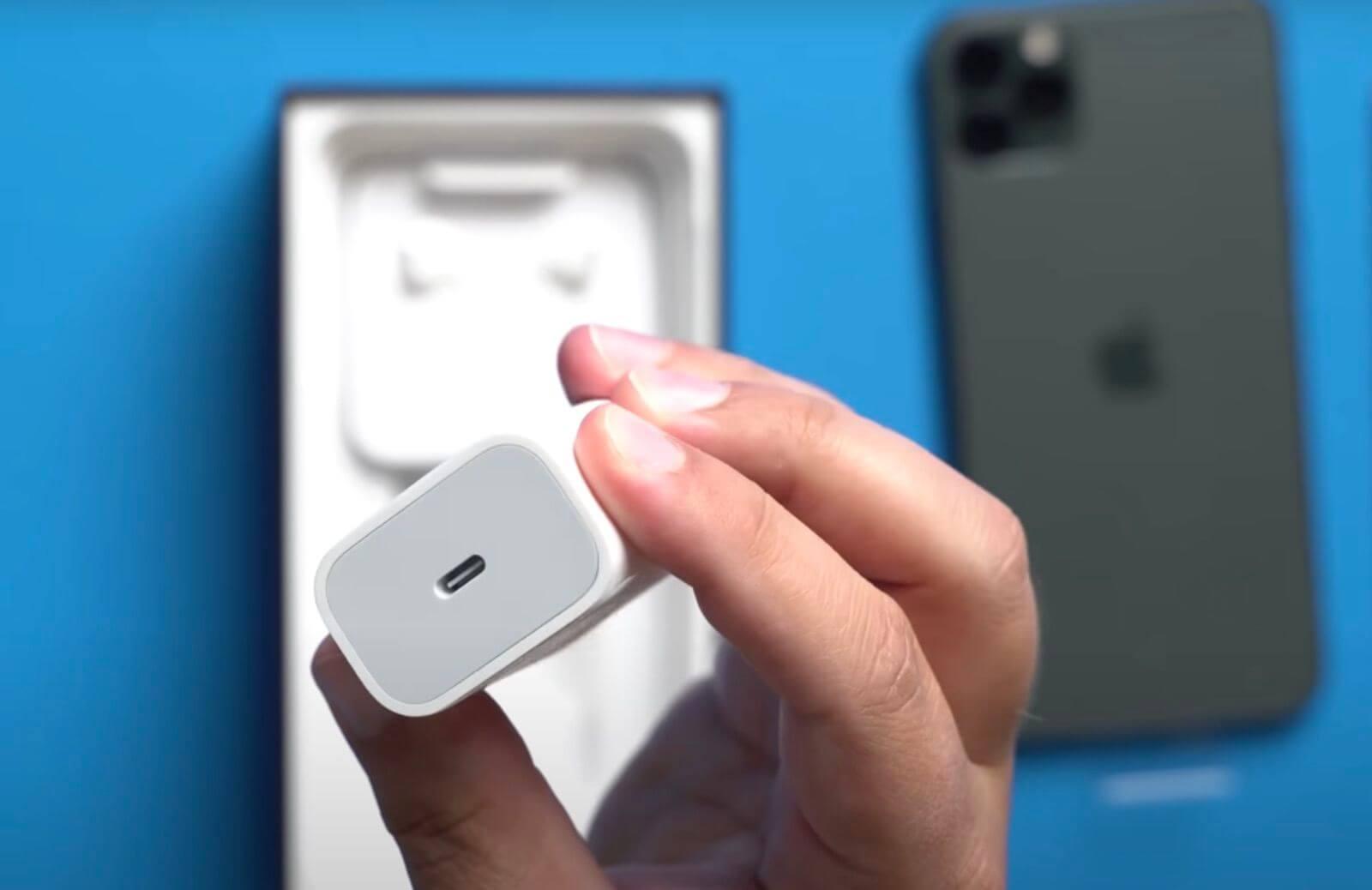 Apple оштрафовали за отсутствие зарядки в коробке с iPhone 12