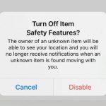 iPhone будет следить, если вам подкинули AirTag для тайной слежки
