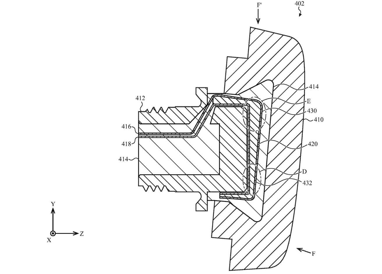 Apple хочет встроить джойстик в Apple Watch. Но где он будет?