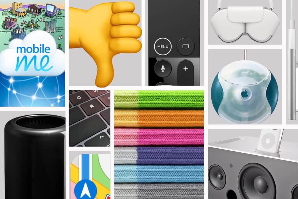 6 худших продуктов, которые когда-либо выпускала Apple