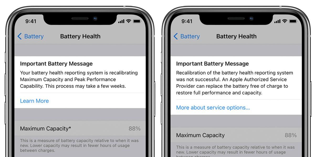 Посмотрели, как работает перекалибровка аккумулятора iPhone в iOS 14.5