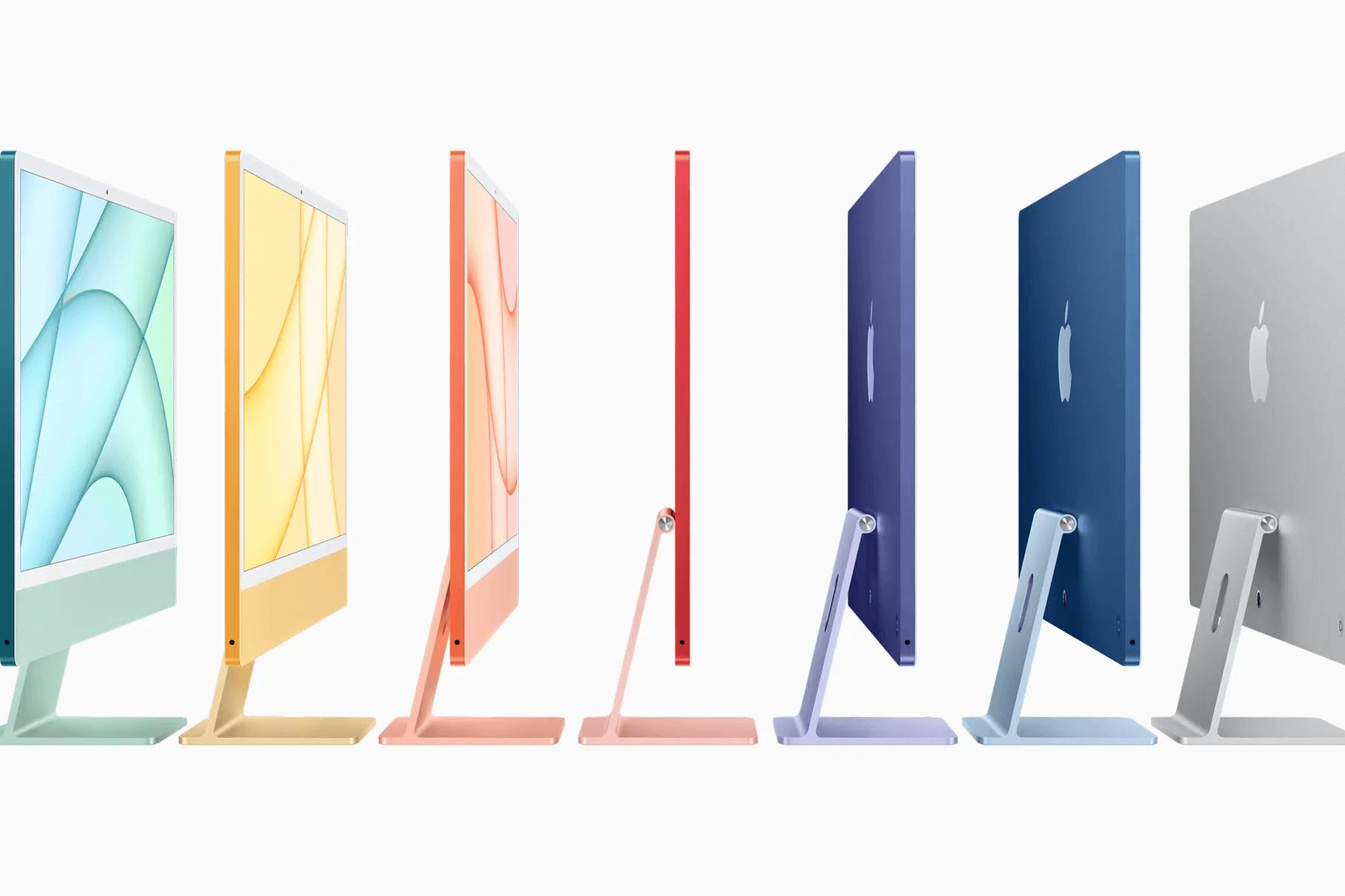 Представлен iMac 2021 — с экраном 24 дюйма и совершенно новым дизайном