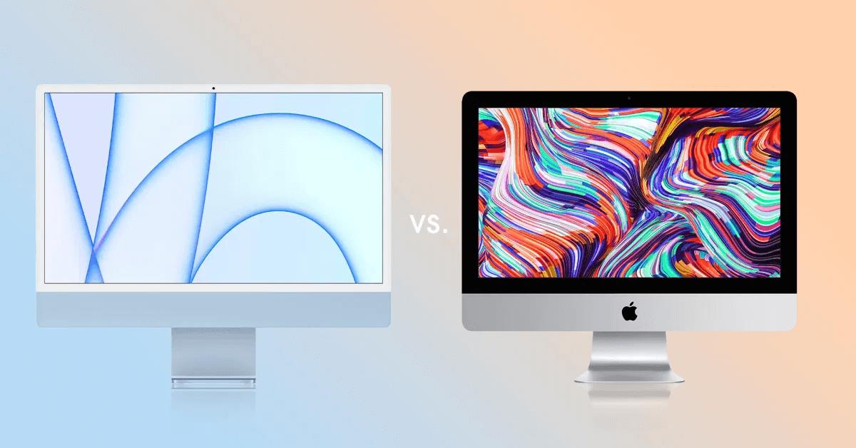 Правда ли он такой крутой? Сравнение нового iMac M1 и iMac 21.5