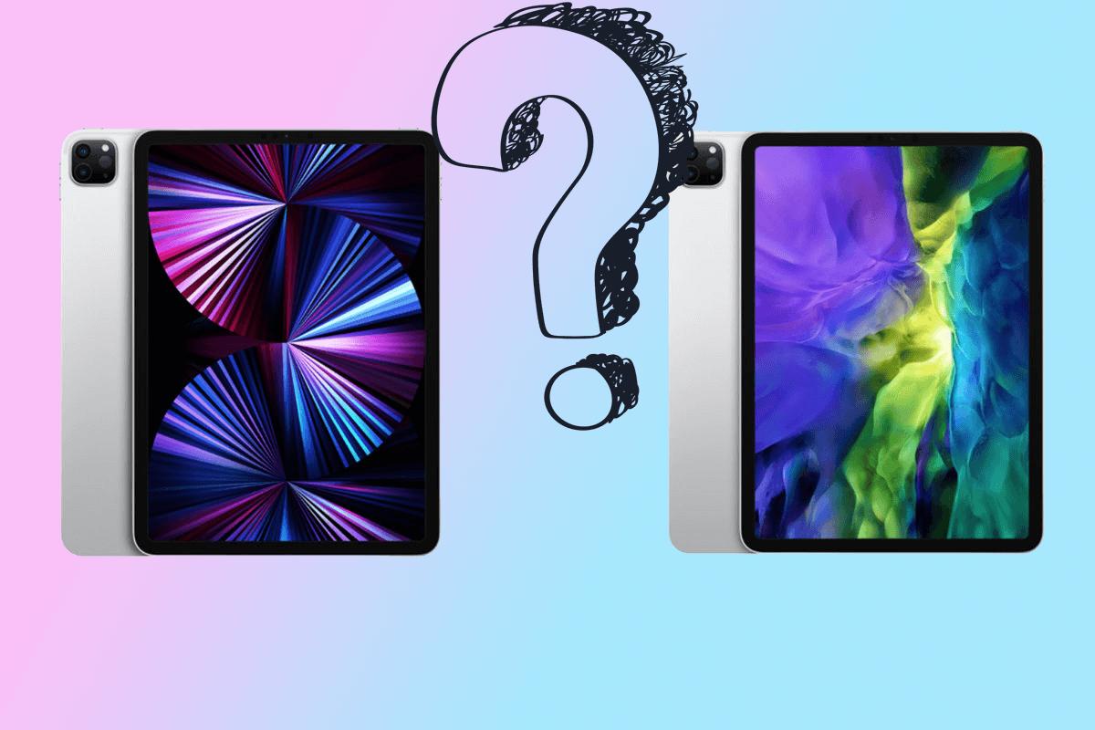 Чем отличается iPad Pro 2021 от iPad Pro 2020