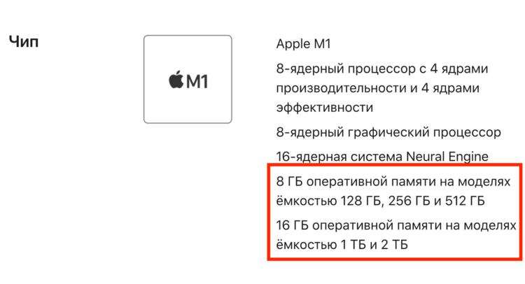 Как отличить iPad Pro 2021 c 8 ГБ и 16 ГБ оперативки