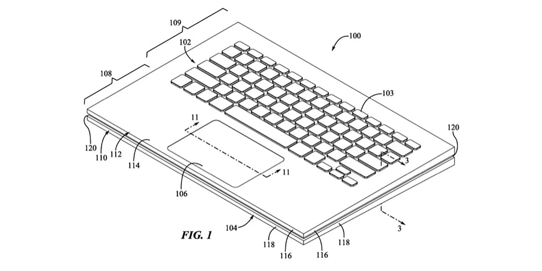 Apple разрабатывает новую клавиатуру для MacBook — с защитой от воды и пыли