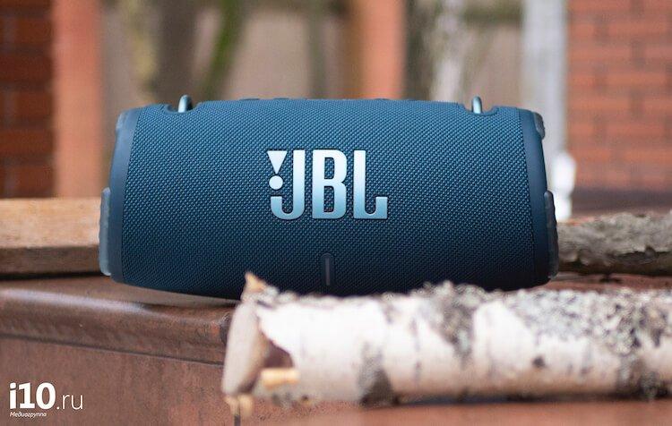 Лучшая колонка для пикников стала домашней. Обзор JBL Xtreme 3