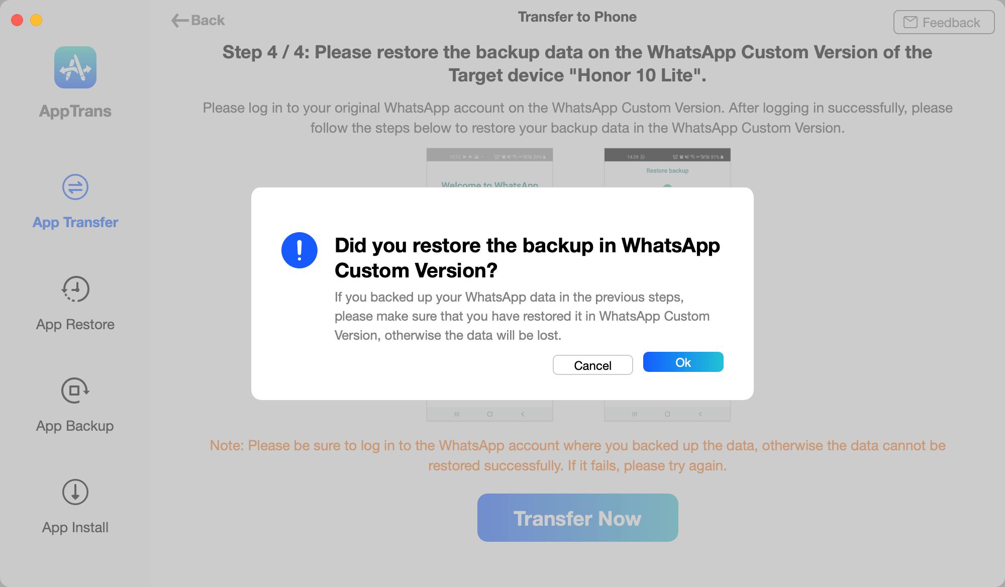 Нашли рабочий способ перенести чаты WhatsApp с iPhone на Android